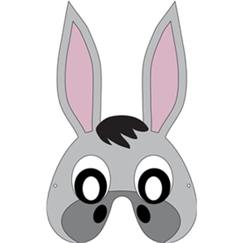 silhouette design store view design 32269 donkey mask