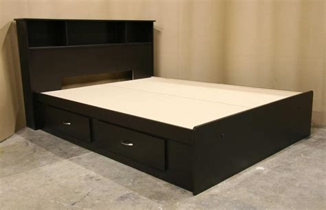 queen bed frame with drawers and headboard queen platform bed with storage brimnes bed frame with