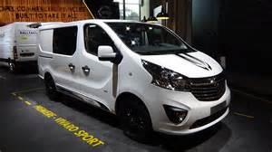 Vauxhall Vivaro Sport 2017 Opel Vivaro Sport Exterior And Interior Iaa