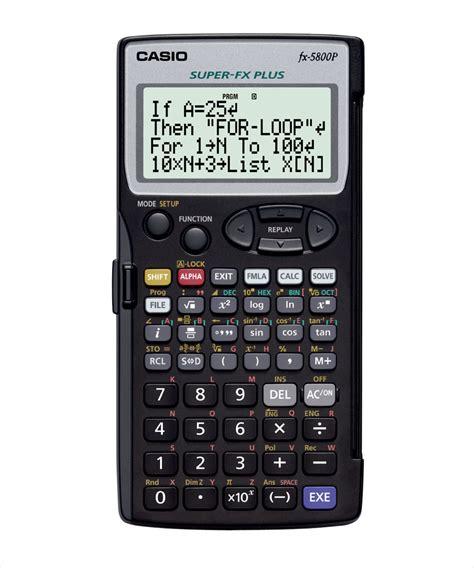 Calculator Fx 3650 Casio Scientific casio fx 5800p scientific calculator buy fx 5800p at best price casioindiashop
