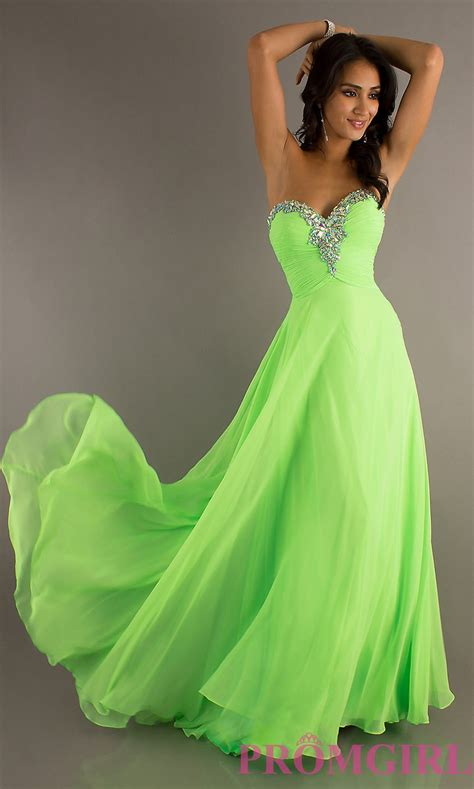Dress Lime lime green prom dress my boyfriends favorite color he