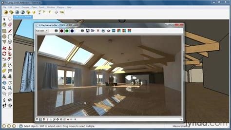 video tutorial vray sketchup español creating reflective surfaces
