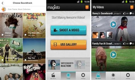 magisto apk free 5 best editor apps for android 2017 editing