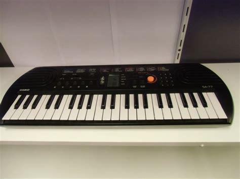 Casio Keyboard Sa 77 Keyboard Casio Sa 77 In Condition Catawiki