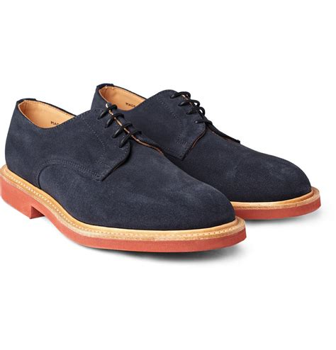 bucks shoes mcnairy navy suede bucks us 10 5 uk 9 5 new in box