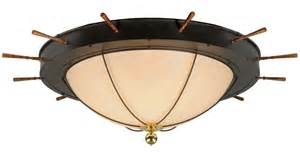 Nautical Flush Mount Ceiling Light Meyda 140743 Nautical Flush Mount Ceiling Fixture