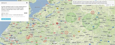 netherlands airspace map maps mania notams for pilots on maps