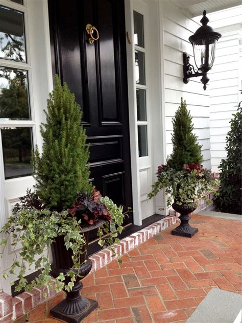 Front Entrance Planters by Flores Sol Fall Container Plantings Part Ii