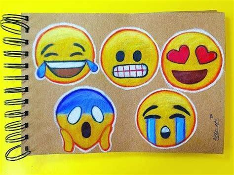imagenes emoji para imprimir c 243 mo dibujar emojis de whatsapp paso a paso youtube