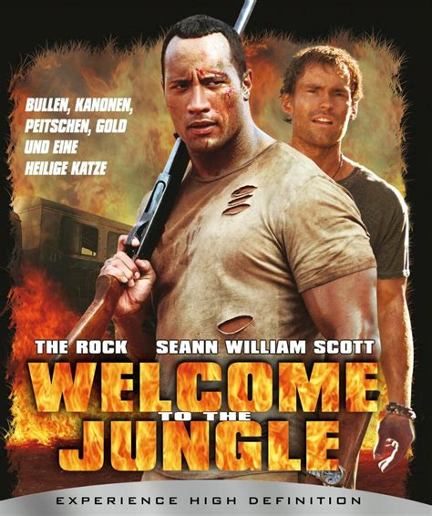 welcome cover welcome to the jungle dvd oder leihen