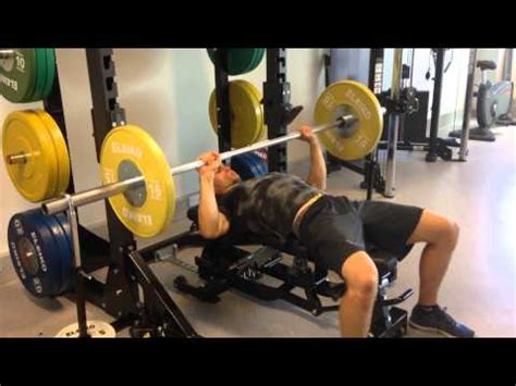 eccentric bench press eccentric overload bench press with weight releasers youtube