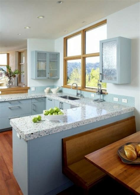 Shiny Laminate Countertops by Remodelaholic Glossy Painted Kitchen Counter Top Tutorial