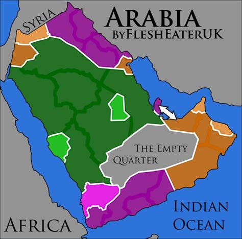 middle east map arabic middle east series ii arabia map