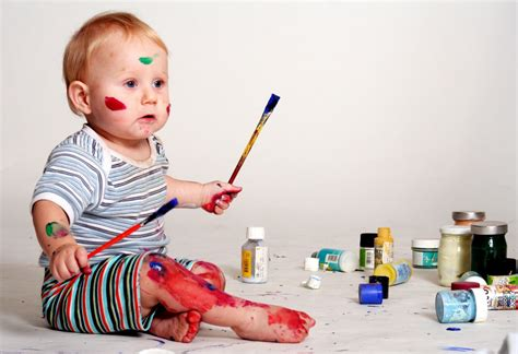 painting baby how to guide your children to paint smart babytree