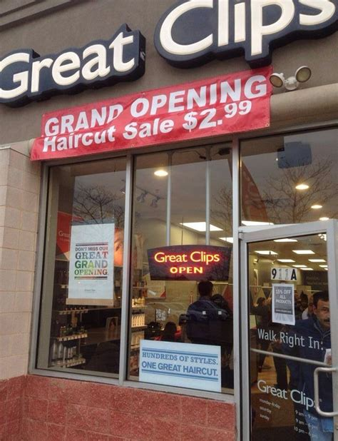 haircut coupons plainfield il great clips opens with great prices south plainfield nj