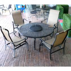 awesome outdoor furniture with pit table sedona