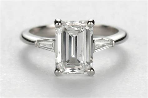 emerald engagement rings meaning emerald cut engagement