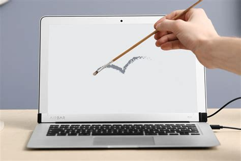 Laptop Apple Touchscreen defy apple and add a touchscreen to your macbook with airbar