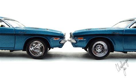 johnny dodge johnny lightning 1970 dodge challenger r t 440 magnum in blue