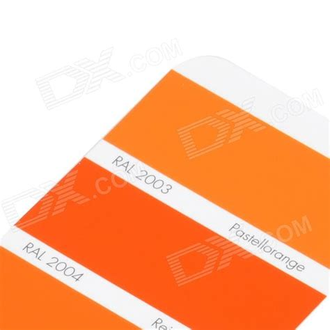 ral k7 verf kleur pagina chipkaart brochure gratis verzending dealextreme