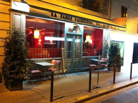la table lauriston la table lauriston trocadero restaurant reviews