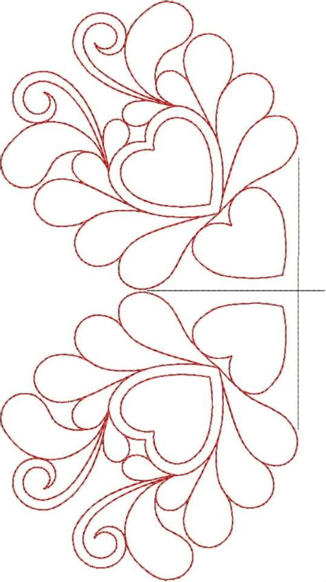 Free Machine Embroidery Quilting Designs by Original Embroidery Machine Quilting Designs Set 7