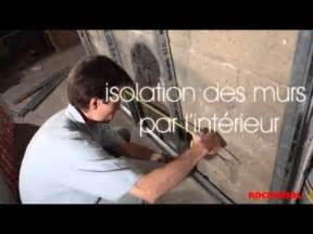 isolation des murs par l int 233 rieur avec la de roche