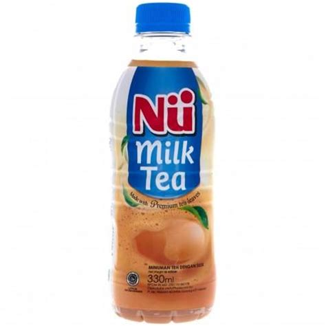 Nu Milk Tea 330ml Minuman Teh supplier minuman