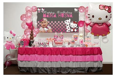 hello kitty themed birthday party ideas pink and grey hello kitty themed birthday party with such