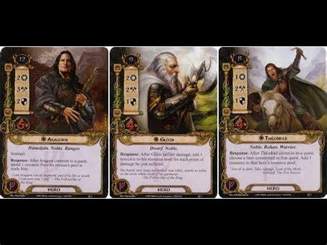 Set Perhiasan Series 005 leadership set player card review lotr lcg progression series ep 005
