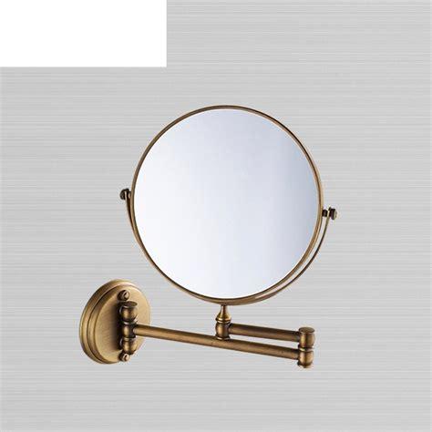 Telescopic Bathroom Mirror by Antique Bathroom Mirror Wall Mounted