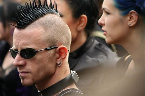 corte mohicano corte de cabello mohicano