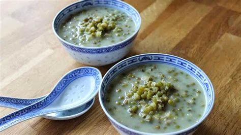 cara membuat bubur kacang hijau paling enak menu buka puasa resep bubur kacang hijau santap
