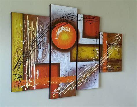 cuadros al oleo sobre lienzo abstractos pintura moderna - Cuadros De Oleo Abstractos