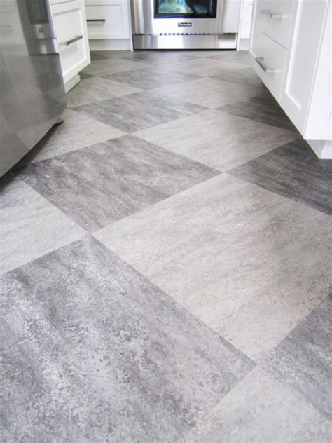 tile floor kitchen make a statement with large floor tiles