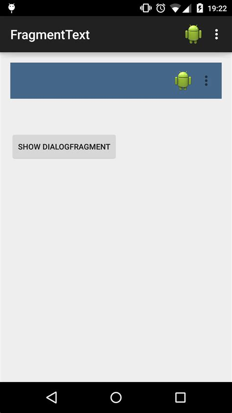 android dialog using dialogfragment not showing up android toolbar in dialogfragment stack overflow