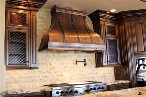 Copper Kitchen Exhaust by Custom Copper Range By Of Traditional