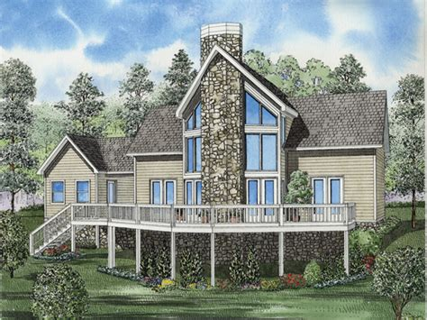 Lake Front House Plans by Cantwell Lake Waterfront Home Plan 055d 0629 House Plans