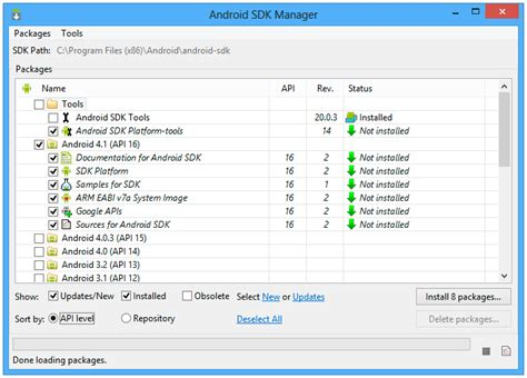 android sdk manager related keywords suggestions for install android sdk