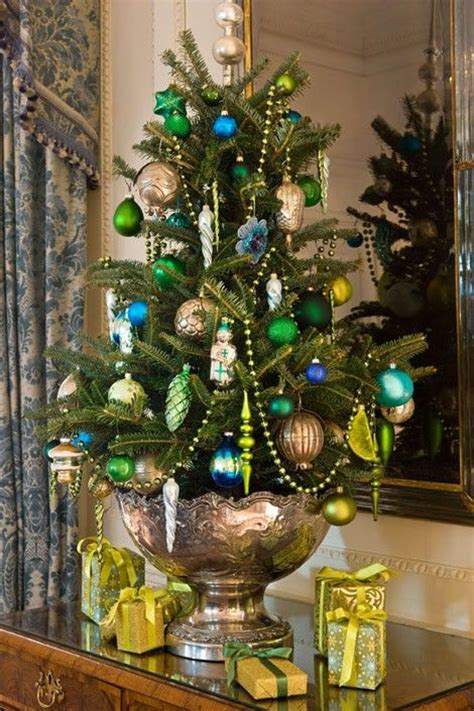 beautiful table top christmas tree decorations