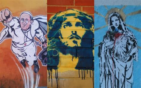 holy graffiti  pictures   urban art inspired