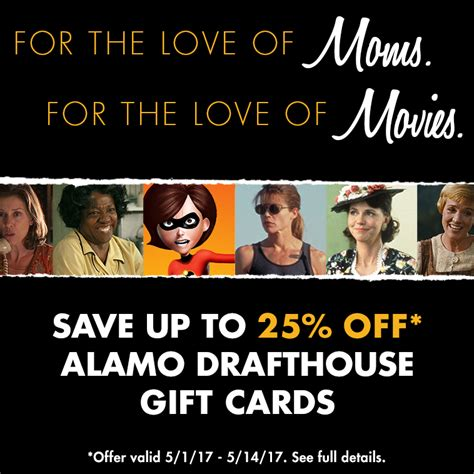 Alamo Drafthouse Gift Card - gift cards alamo drafthouse cinema