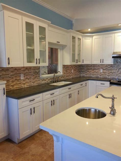 shaker cabinets kitchen designs all home design ideas