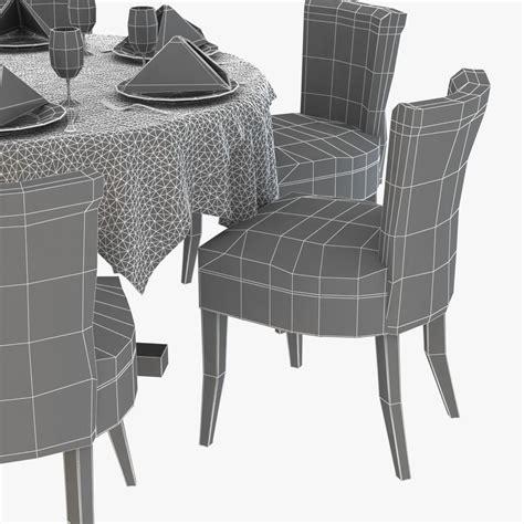 Atlantic Dining Chairs Atlantic Dining Chair 3d Model Max Obj 3ds Fbx Cgtrader