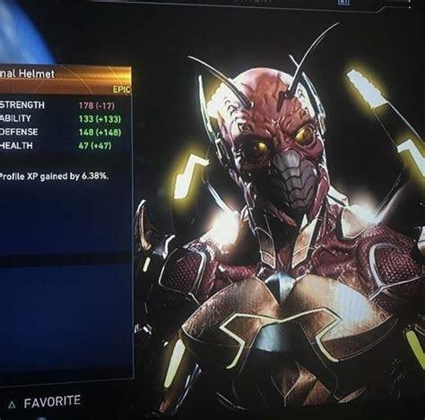 Zedd Gear | injustice 2 blue beetle s new gear basically turns him