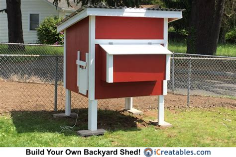 chicken coop plans diy lean to gable roof chicken coops