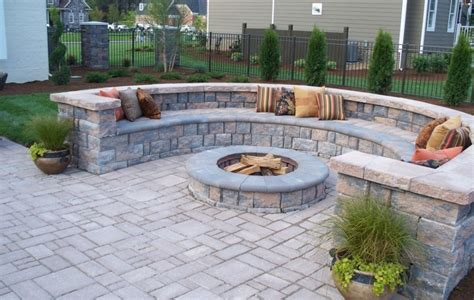 st patio with retaining wall designs studio
