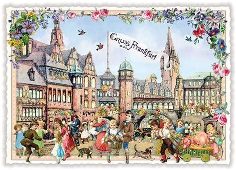 Postkarten Drucken Frankfurt by Tausendsch 214 N Gruss Aus Frankfurt Postkarte