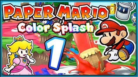 colors part 1 paper mario color splash part 1 farblose insel prisma