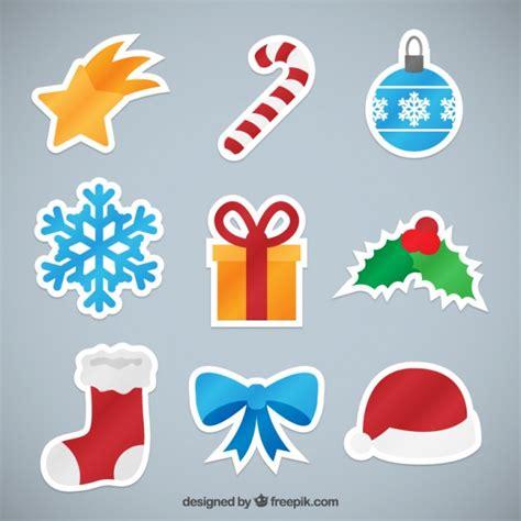 imagenes navideñas retro colecci 243 n elementos pegatinas navide 241 as descargar
